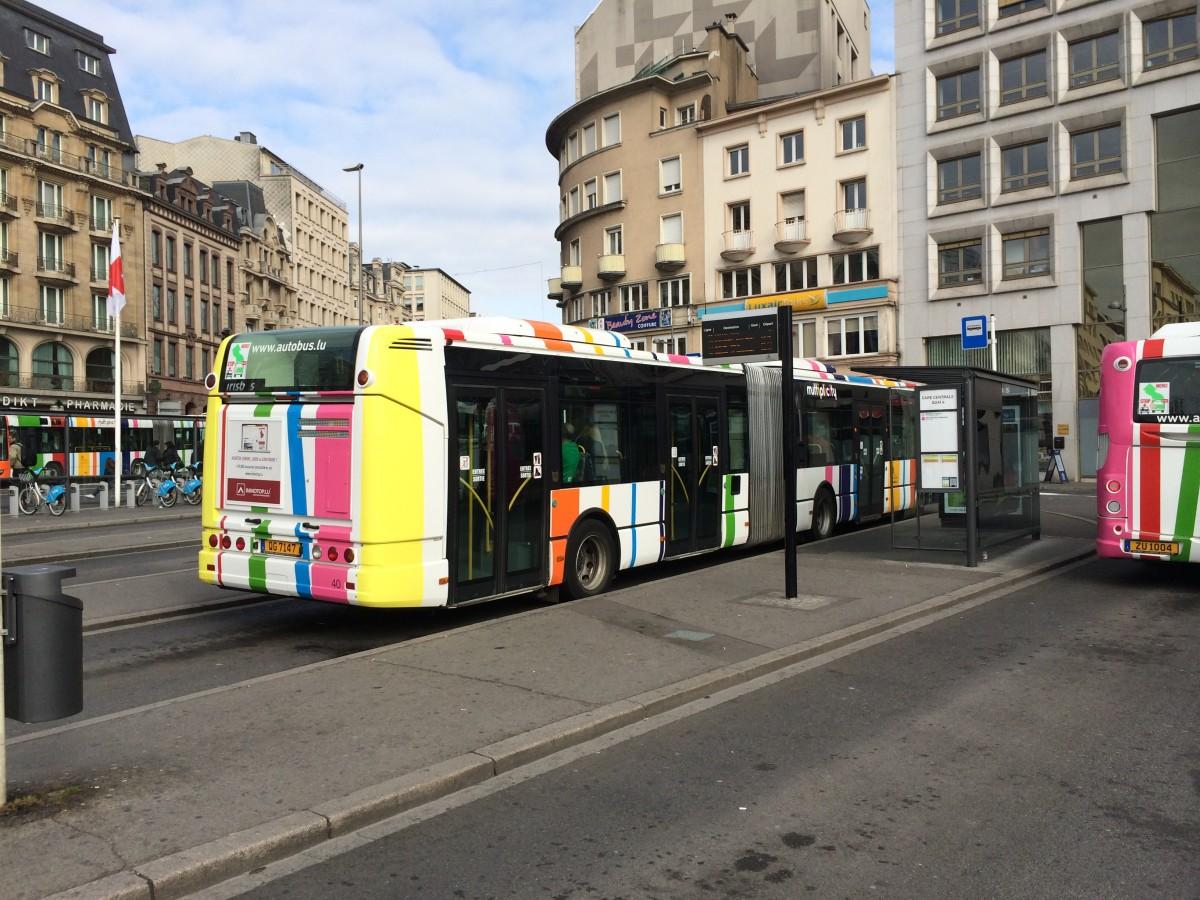 ルクセンブルクのバス