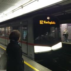ウィーンの地下鉄とトラムとバス