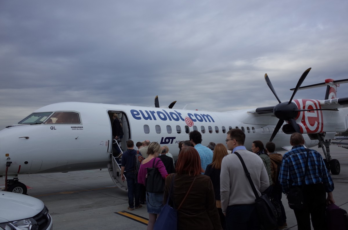 クラクフからリトアニアのヴィリニュスへ