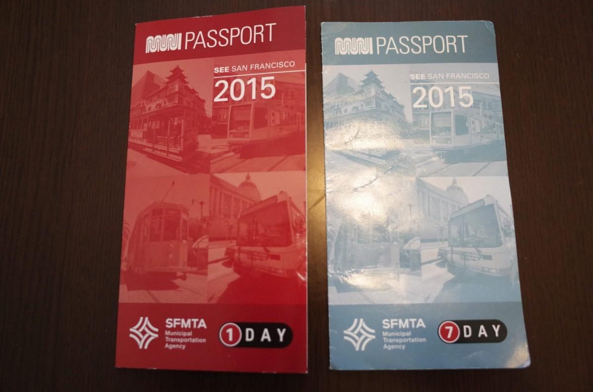 ケーブルカーやMuniバス、Muniメトロ乗り放題の Muni Passport