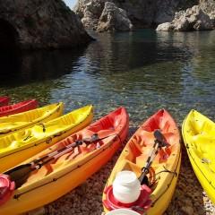 Sea Kayaking アドリア海のカヤックツアー