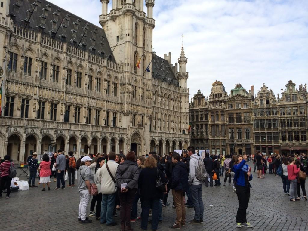 ブリュッセルのグランプラス