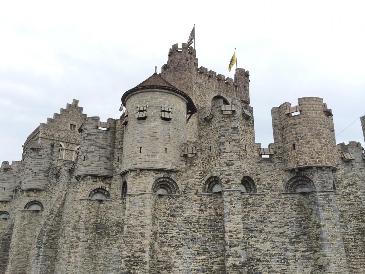 Gravesteen Castle フランドル伯の城