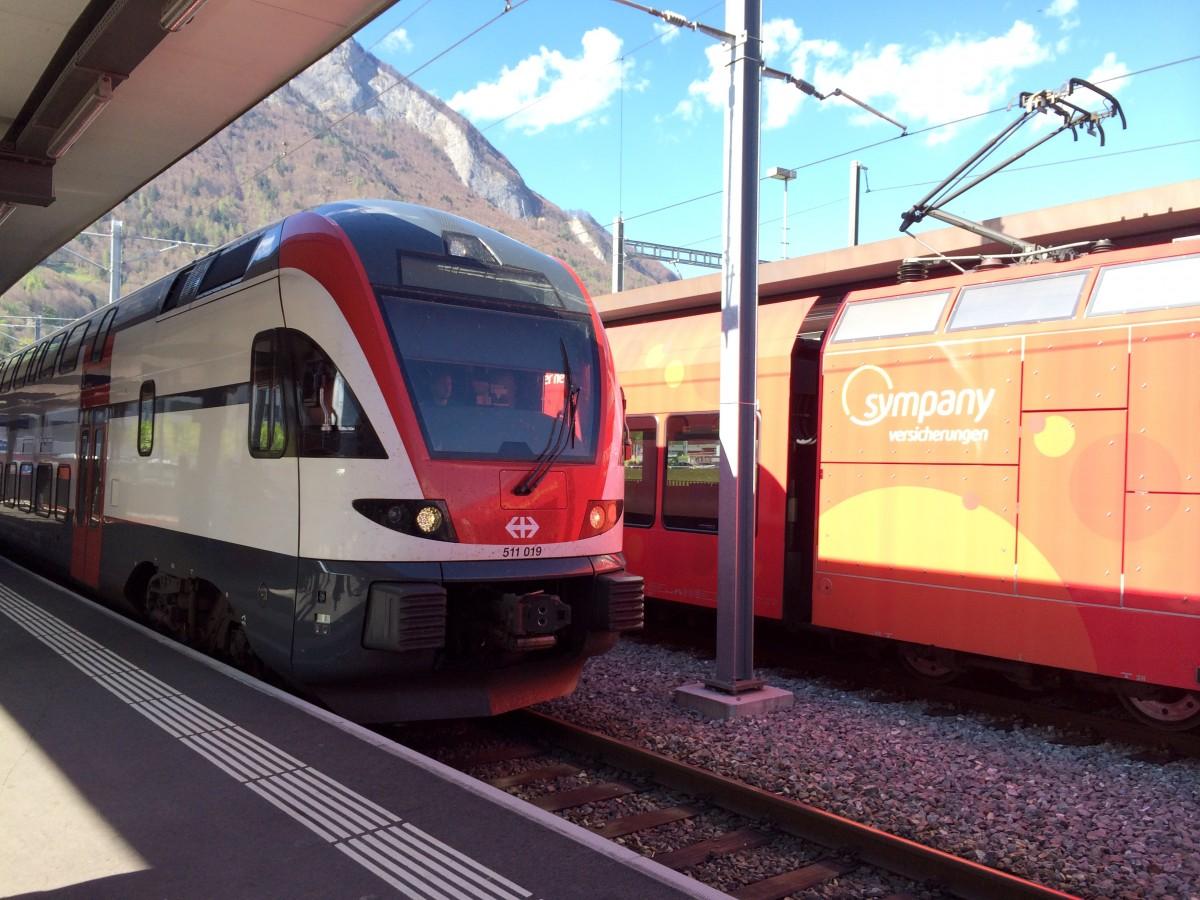 スイスの鉄道と駅