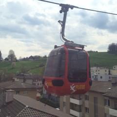 Luzern ルツェルンからピラティス山にロープウェイで登る
