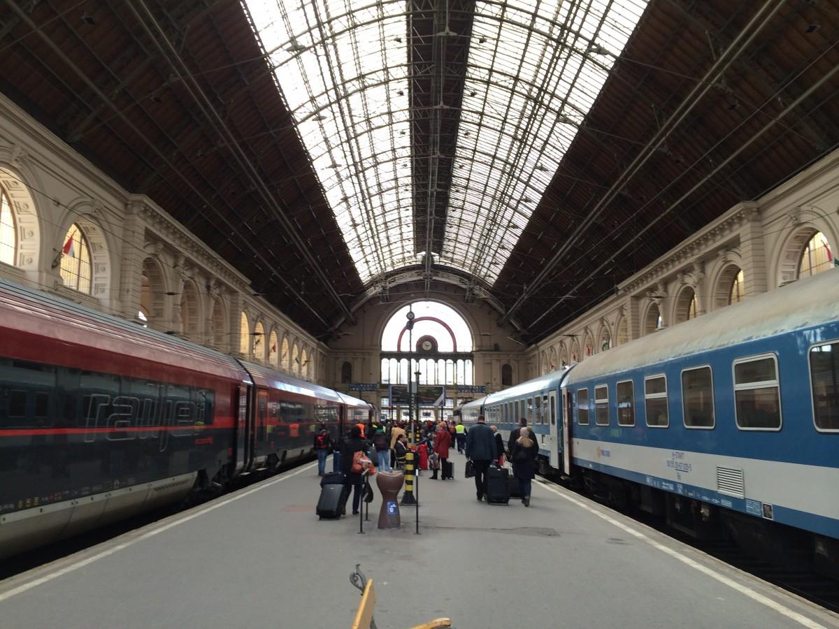 ウィーンからブダペストへ