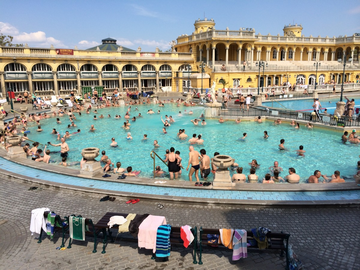 セーチェニ温泉とダガリー温泉