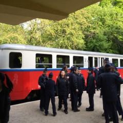 ヤーノシュ山のリフトと子供鉄道