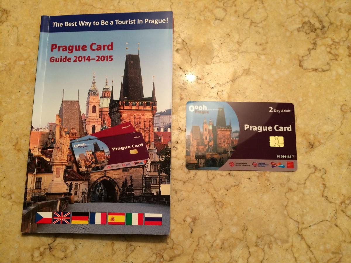 プラハにもあったプラハカード