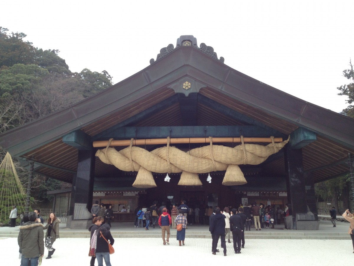 3連休で渋谷から車で博多と出雲大社と熊野古道を弾丸旅行