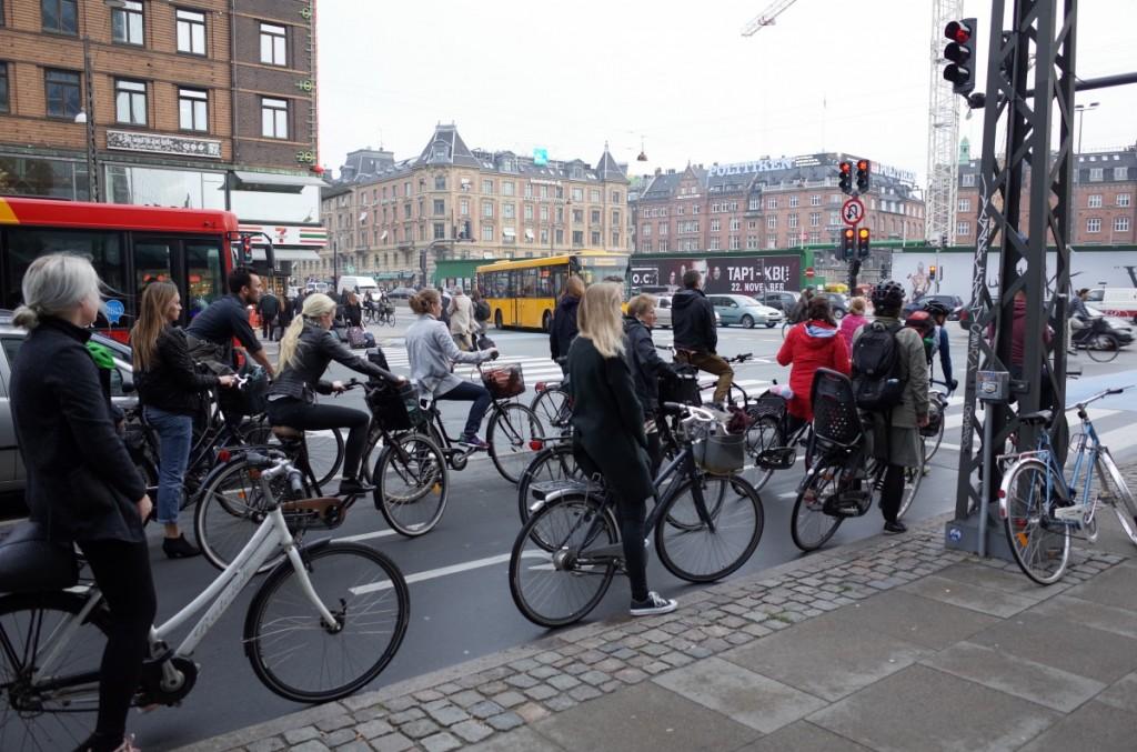 コペンハーゲンは自転車の街