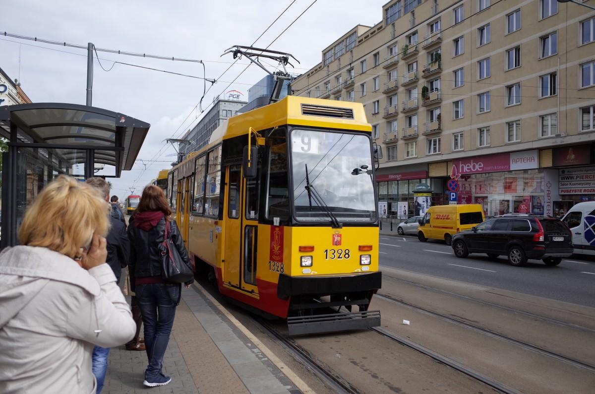 ワルシャワのトラムとメトロ