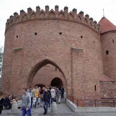 ワルシャワの旧市街とごはん