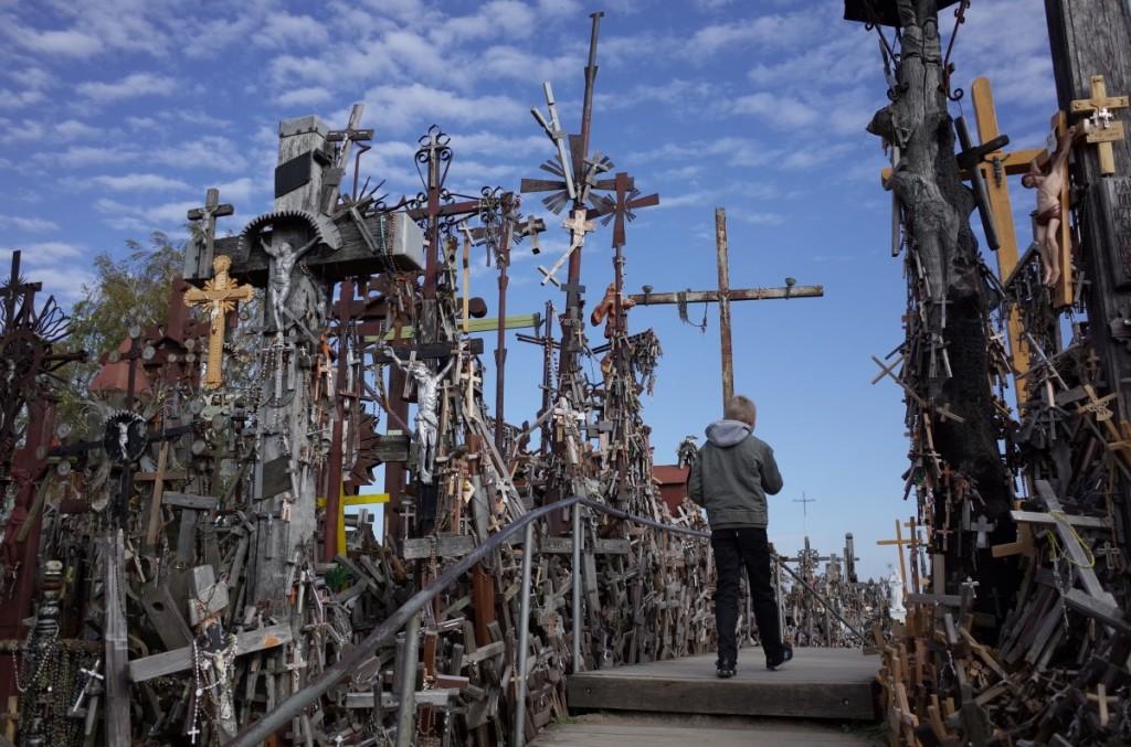 リトアニア シャウレイ 十字架の丘