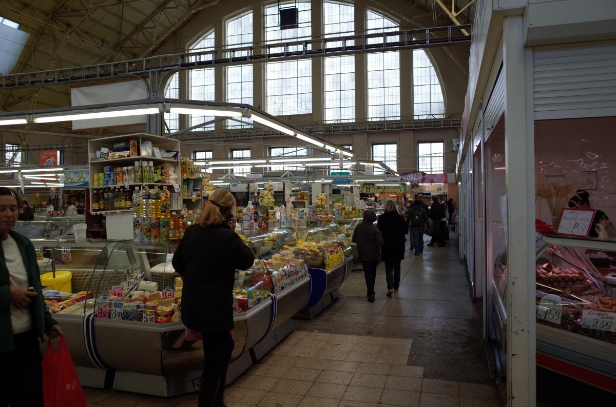 リガ中央市場 マーケット
