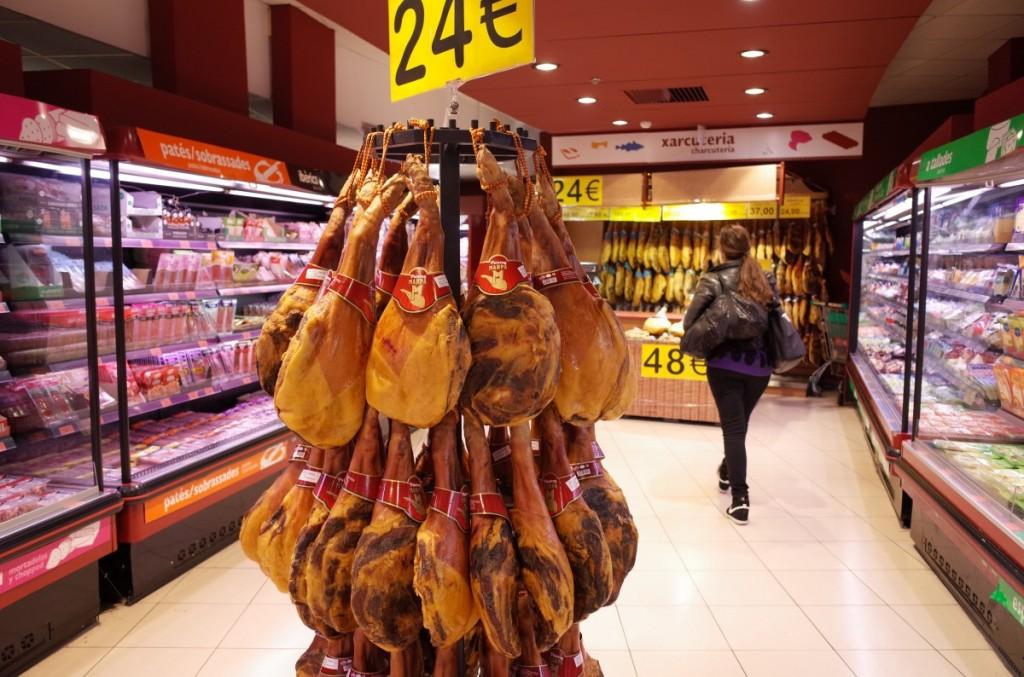 バルセロナのスーパーと物価