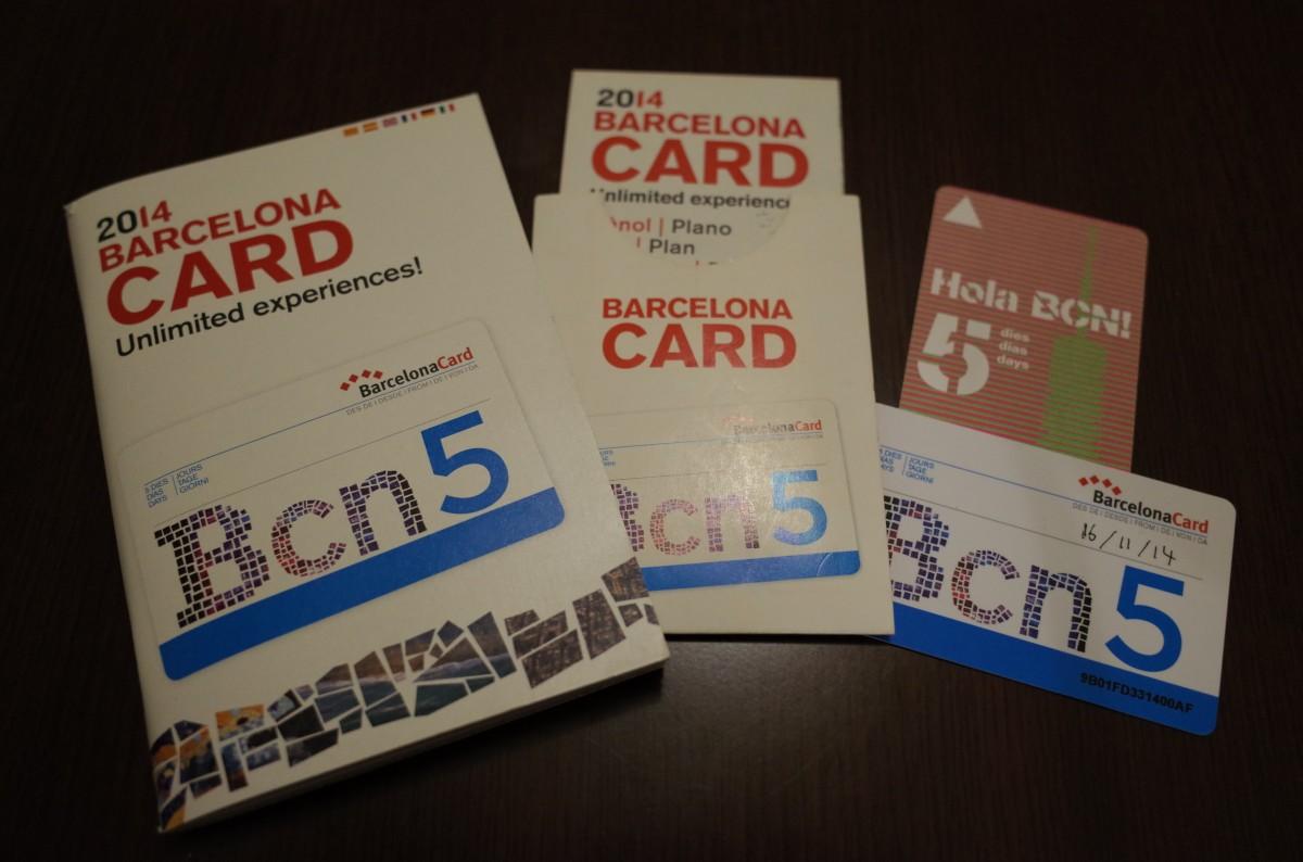 Barcelona Card バルセロナカード