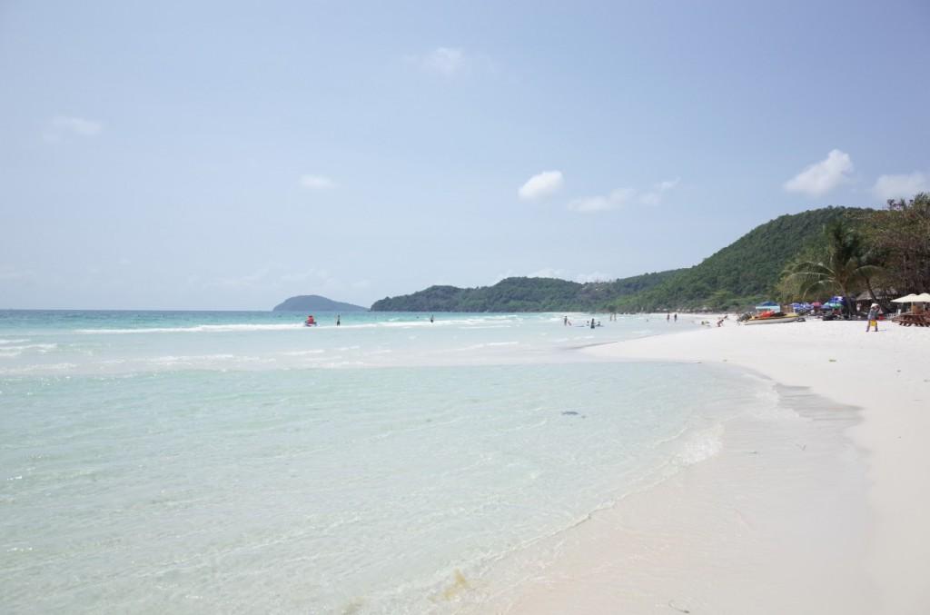 フーコックで一番きれいと言われるサオビーチ