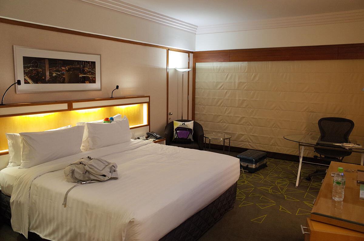 パンパシフィックホテルとマリーナマンダリンホテル