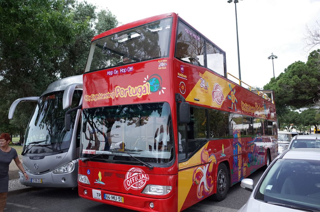 Lisbon Sightseeing Hop-On Hop-Off 観光バス