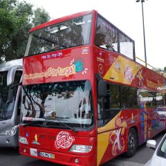 Lisbon Sightseeing Hop-On Hop-Off 観光バス